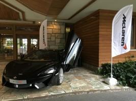 雷山ゴルフ場にて展示を行いました
